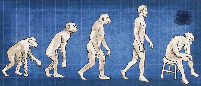эволюция и депрессия