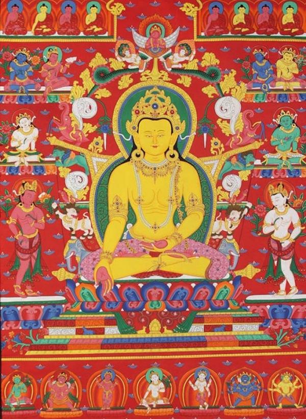 Будда Ратнасабхава